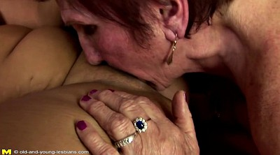 Mature lesbian, Hairy granny, Old and young, Granny hairy