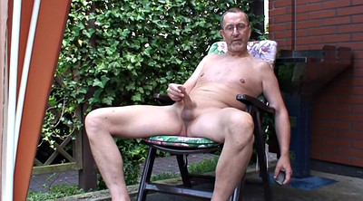 Old gay, Granny solo, Granny gay, Perv, Garden