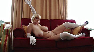 Gloves, Glove, Mature stockings, Sophie, Gloved