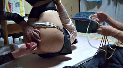 Asian bdsm, Hanging