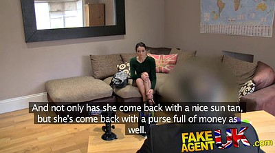 Anal casting, Fake agent