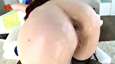Swallow, Cum swallow, Swallow cum, Hairy ass, Redhead milf