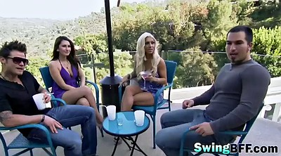 Swingers foursome, Teen couple