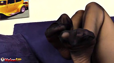 Pantyhose feet, Pantyhose foot, Black pantyhose, Black big ass