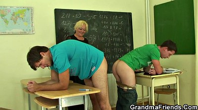 Old teacher, Very young, Granny and boys