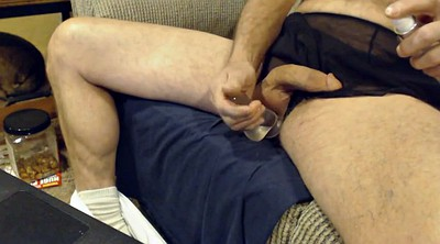 Boy, Nylon handjob