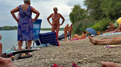 Nudist, Old grandpa, Nudists