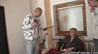 Wife threesome, Delivery, Old men