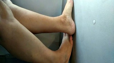 Foot job, Hidden cam, Candid