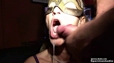 Cum in mouth, Mouth sex, German milf creampie, German group