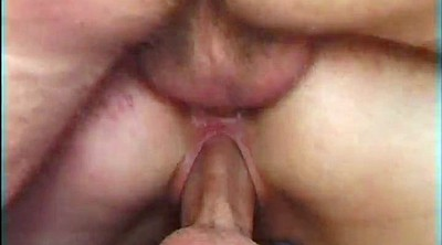 Orgasm, Double anal, Small tit, Amateur orgasm