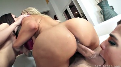 Gangbang, Reverse cowgirl, Riding dildo, Blair williams