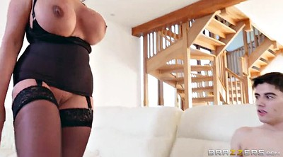 Young boy, Stepmother, Emma, Big tits mature