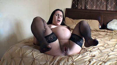 Mature solo, Stocking, Preggo