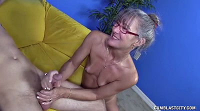 Lady, Mature handjob