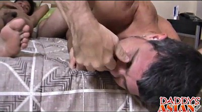Tickling, Dad, Tickle, Tickled, Asian daddy, Asian tickle