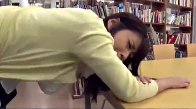 Public, Japanese girl, Library, Japanese public