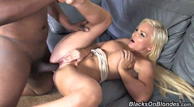 Facial, Interracial gangbang, Pussy spreading, Spread pussy, Gangbang blonde