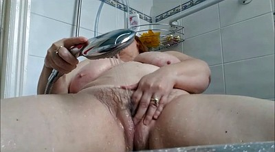 Bath, Wife shower, Wife masturbating