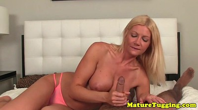 Mature handjob, Mature tease, Edging, Edge