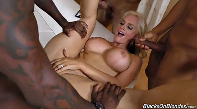 Moms, Interracial gangbang