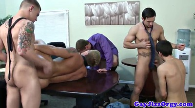 Gay group, Office sex, Cute boy, Swallowed, Many