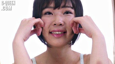 Japanese teen, Shy teen, Short, Japanese short hair