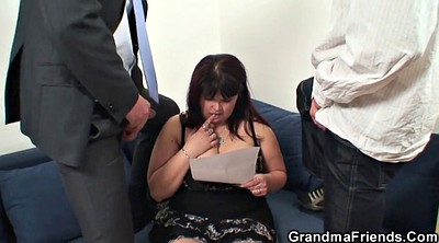 Mommy, Two old, Huge boobs, Big tits granny
