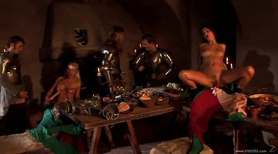 Handjob, Table, Medieval
