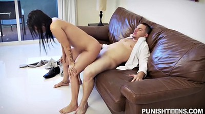 Police, Latina doggy fucking brunette, Latina doggy fucking