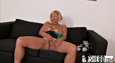 Pussy stretching, Granny masturbation, Blacks on blonde