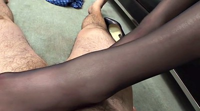 Footjob, Pantyhose feet