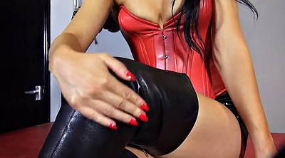 Femdom, Boots, German boots, Boots foot
