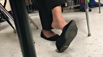 Black, Teacher feet