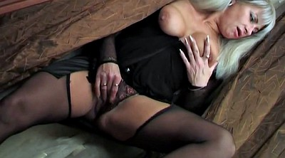 Russian mature, Old young, Watching porn, Russian son