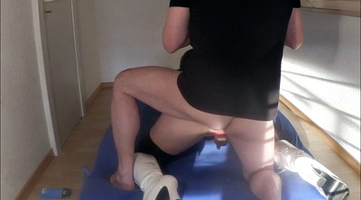 Crossdress, Crossdresser blowjob