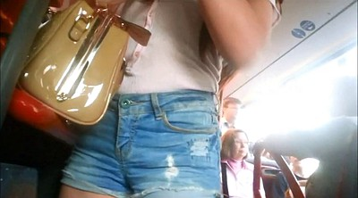 Candid, In bus
