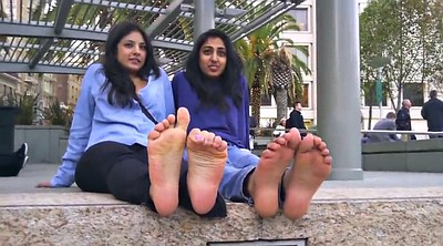 Foot, Indian girl, Talk