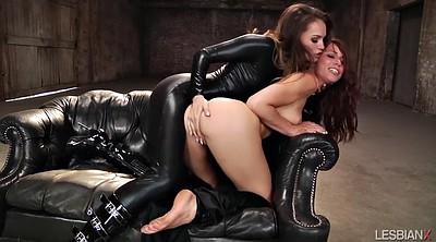 Tori black, Leather