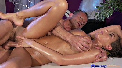 Granny anal, Oil massage
