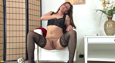 Mother, Mature stocking, Stockings mature