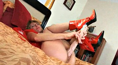Nylon masturbation, Mature nylon