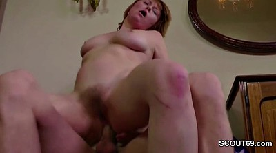 Hairy mom, Milf anal, First anal, Mom seduce, First time anal, Fucking mom
