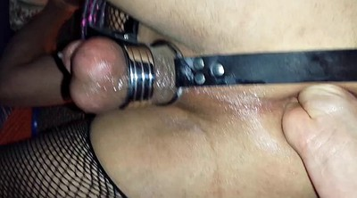 Sissy, Anal dildo, Ass fisting