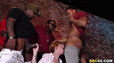 Double anal, Double penetrated, Busty gangbang, Anal interracial