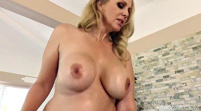 Julia ann, Mature massage, Mature bbc, Bbc blonde, Bbc mature, Blonde bbc