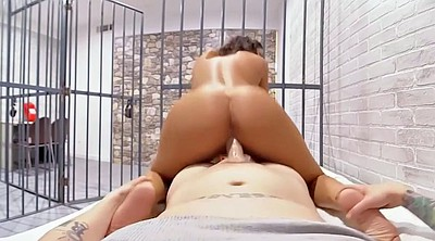 August ames, Prisoner, Milf blowjob