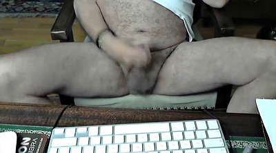 Old gay, Mature masturbating