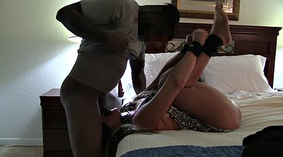 Gagging, Anal dildo, Blindfolded