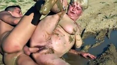 Bbw group, Mature group, Mud, Pig, Liking